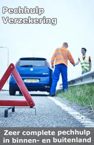 Pechhulp Verzekering inclusief vervangend vervoer: € 2,54 p/m