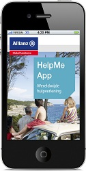 Allianz vernieuwd HelpMe app
