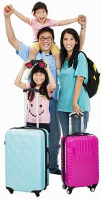 Reisverzekering voor je buitenlandse familie en vrienden