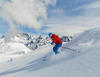 meer wintersporters in nood