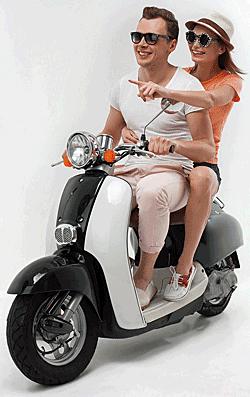 Is het huren van een scooter (of brommer) in het buitenland gedekt op mijn reisverzekering?