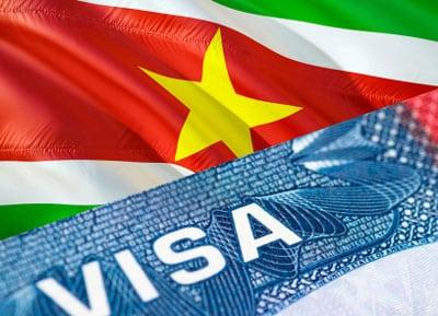Visum voor Suriname