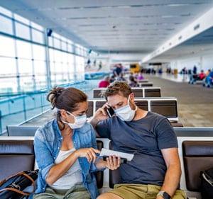 Reisverzekering met corona dekking voor reisadvies code oranje of rood