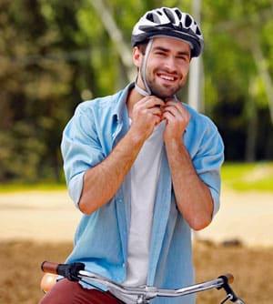 Vier op de vijf jongeren willen geen fietshelm dragen