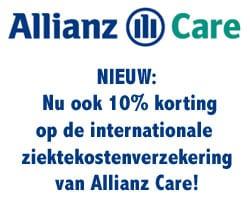 Allianz Care internationale ziektekostenverzekering: nu 10% korting!